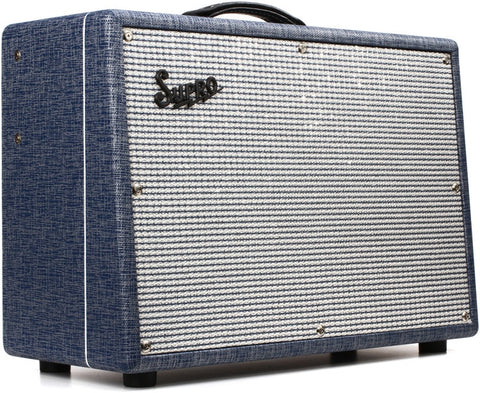 "Supro 1648RT Saturn Reverb 15-watt 1x12"" Tube Combo Guitar Amplifier"