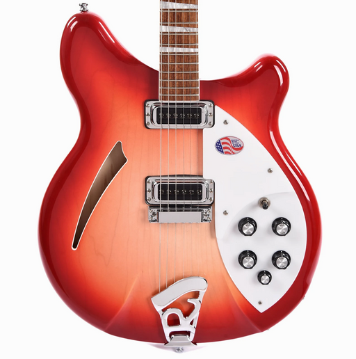 Rickenbacker 360 Fireglo Semi Hollow Guitar With OHSC