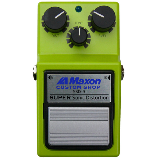 Maxon Super Sonic Distortion SSD-9 Autographed by Susumu Tamura