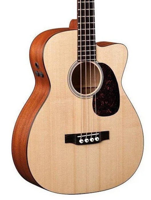 Martin BCPA4 Acoustic Electric Cutaway Bass Guitar - Natural Finish