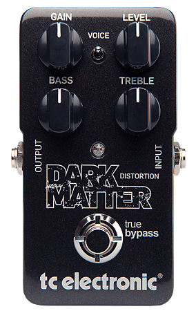 TC Electronics Dark Matter Distortion Guitar Pedal