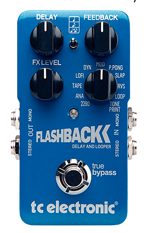 TC Electronics Flashback Delay and Looper Guitar Pedal