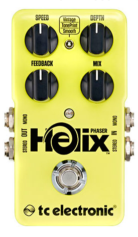 TC Electronic Helix Phaser Guitar Pedal
