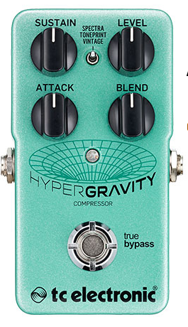 TC Electronics HyperGravity Compressor Guitar Pedal