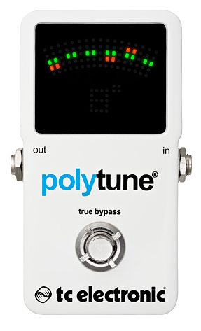 TC Electronics Polytune 2 Tuner Guitar Pedal