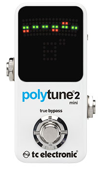TC Electronic Polytune 2 Mini Tuner Guitar Pedal
