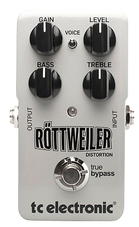 TC Electronics Rottweiler Distortion Guitar Pedal