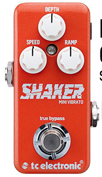 TC Electronic Shaker Vibrato Mini Guitar Pedal