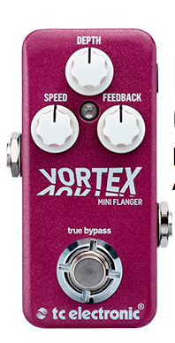 TC Electronics Vortex Mini Flanger Guitar Pedal