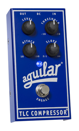 Aguilar TLC Bass Compressor Effect Pedal