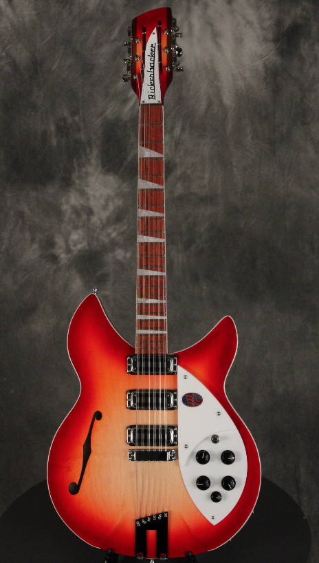 New Rickenbacker 1993/12 Fireglow 12 String Semi Hollow Electric Guitar W/ OHSC