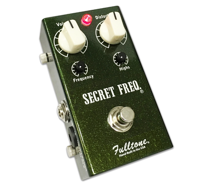 Fulltone Secret Freq. SF1 Distortion/Overdrive Pedal