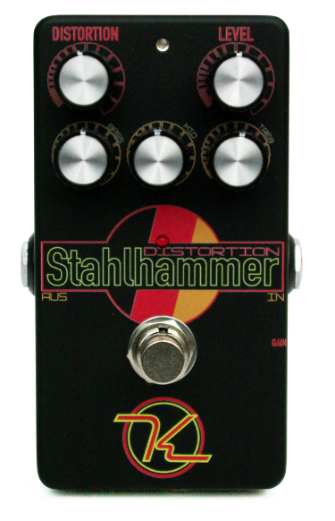 Keeley Stahlhammer Distortion Guitar Effect Pedal