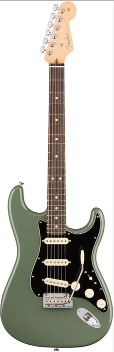 Fender American Professional Stratocaster Guitar Olive Green/Rosewood