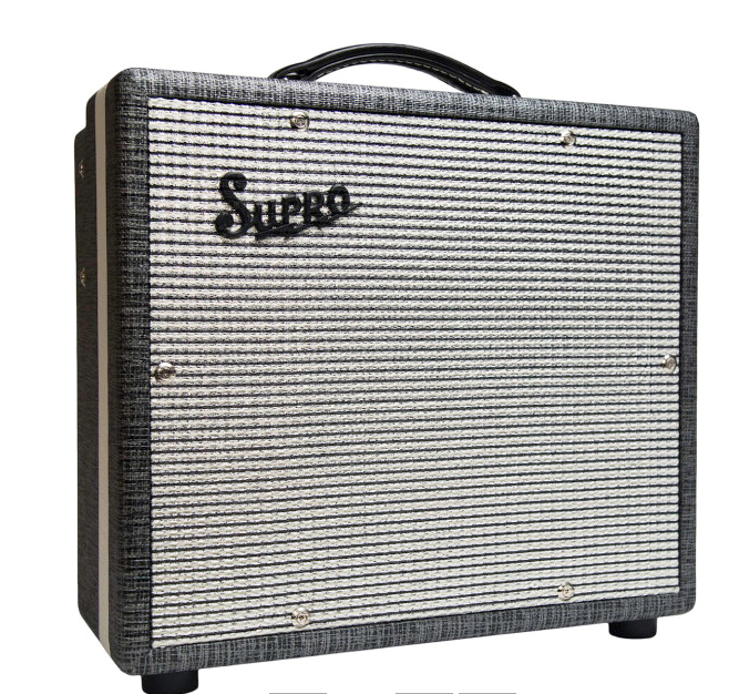 "Supro 1610RT Comet 6/14-watt 1x10"" Tube Combo Guitar Amplifier"