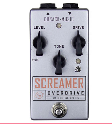 Cusack Audio Screamer - TS9-Style OD w/ Extra Gain & Multiple Clipping Modes