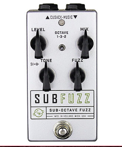 Cusack Audio Sub Fuzz Sub Octave and Fuzz Guitar Effect Pedal