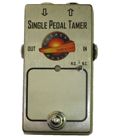 Cusack Audio Single Pedal Tamer Single Loop Pedal Switcher Guitar Effect Pedal