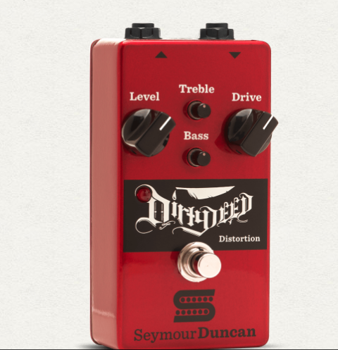 Seymour Duncan Dirty Deed Distortion Guitar Effect Pedal