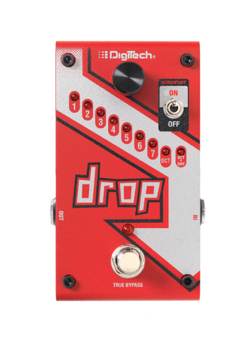 DigiTech The Drop Polyphonic Drop Tune Pedal Guitar Effect Pedal