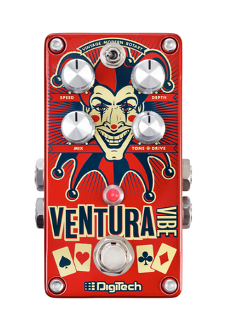 DigiTech Ventura Vibe Rotary/Vibrato Guitar Effects Pedal