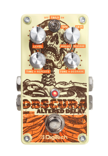 DigiTech Obscura Altered Delay Pedal Guitar Effects Pedal
