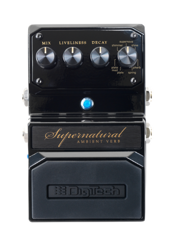 DigiTech Supernatural Ambient Reverb Guitar Effects Pedal