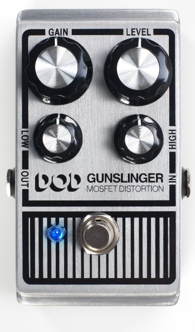 DOD Gunslinger MOSFET Distortion Pedal