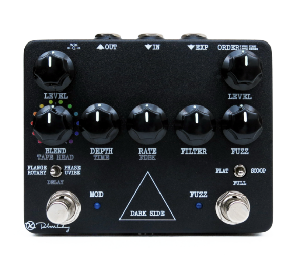 Keeley Dark Side Workstation V2 Analog Multi-Effects Pedal Guitar Effect Pedal