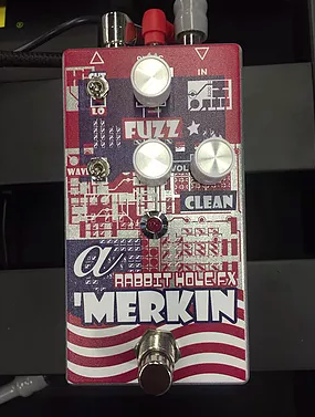 Rabbit Hole FX Merkin Fuzz Guitar Effect Pedal