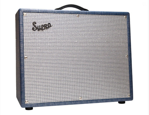 "Supro S6420 Thunderbolt 35-watt 1x15"" Tube Combo Guitar Amplifier"