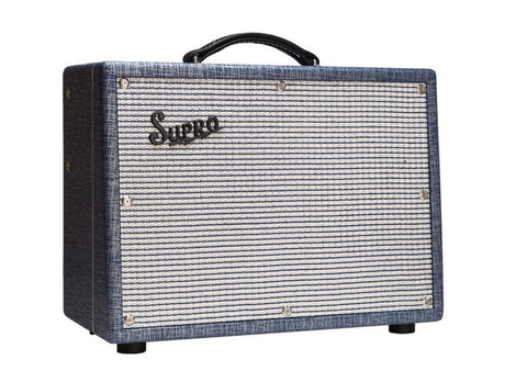 "Supro 1622RT Tremo-Verb 25-watt 1x10"" Tube Combo Guitar Amplifier"