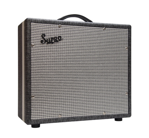 "Supro 1791 Black Magick 75-watt 1x15"" Extension Cabinet"
