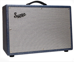 "Supro 1650RT Royal Reverb 60/45/35-watt 2x10"" Tube Combo"