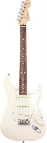 Fender American Professional Stratocaster Guitar Olympic White/Rosewood