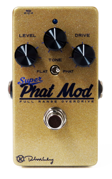 Keeley Super Phat Mod Dynamic Overdrive Pedal Guitar Effect Pedal