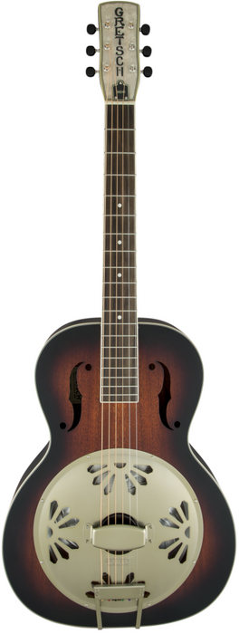 Gretsch Guitars G9241 Alligator Biscuit Round-Neck Acoustic-Electric Resonator Guitar