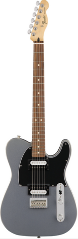 Fender Standard Telecaster HH Ghost Silver rosewood Board