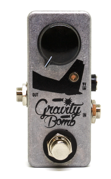 Coppersound Effect Pedals Gravity Bomb Boost Guitar Effect Pedal