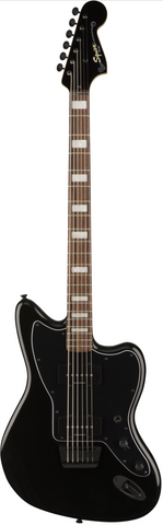 Fender Vintage Modified Baritone Jazzmaster Trans Black Electric Guitar