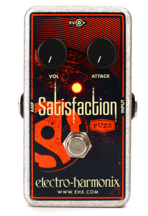 Electro-Harmonix Satisfaction Fuzz Guitar Pedal