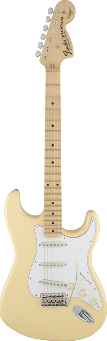 Fender Yngwie Malmsteen Stratocaster Scalloped Maple Vintage White With OHSC