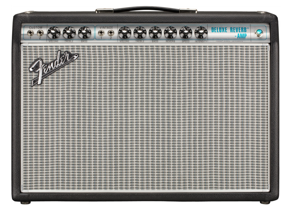 Fender '68 Custom Deluxe Reverb Pine Neo Speaker FSR Limited Edition FSR Guitar Amplifier
