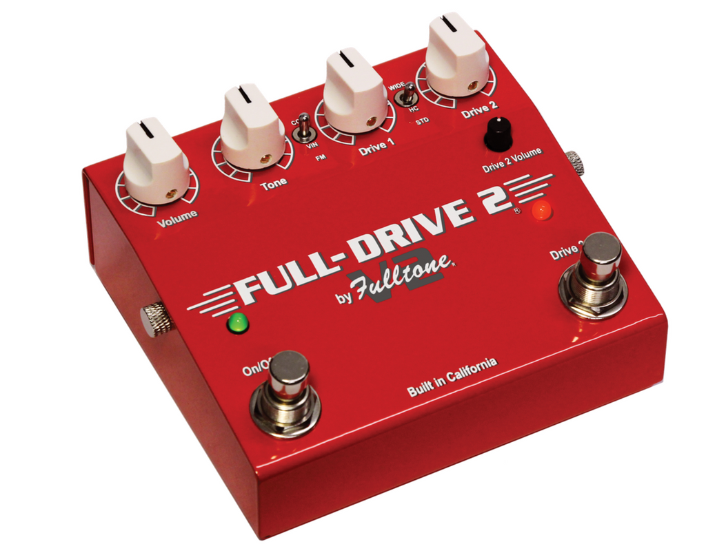 Fulltone Fulldrive Full-Drive V2 Distortion/Overdrive Guitar Effect Pedal