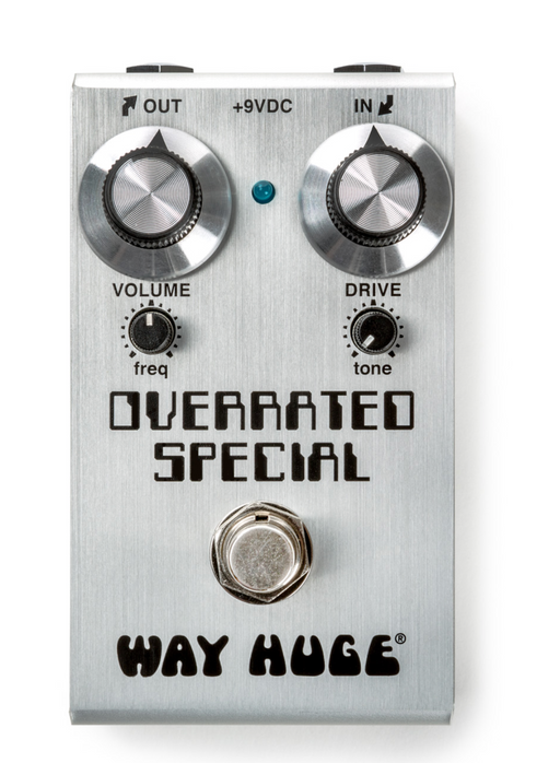 Way Huge Overrated Special Smalls WM28 Overdrive Guitar Effect Pedal Dunlop