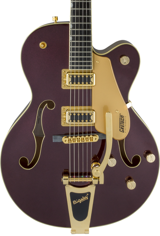 Gretsch G5420TG Electromatic 135th Anniversary Limited Edition Hollow Body Single-Cut with Bigsby Two-Tone Dark Cherry Metallic/Casino Gold