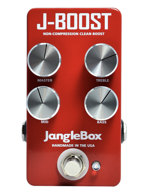Janglebox Jangle Box J-Boost Non Compression Clean Boost Guitar Pedal