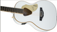 Gretsch Guitars G5021WPE Rancher Penguin Parlor Acoustic/Electric White