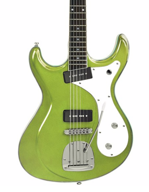 Eastwood Sidejack Deluxe Baritone Electric Guitar - Vintage Mint Green