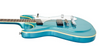 Eastwood Sidejack Baritone Electric Guitar - Metallic Blue